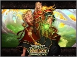 World Of Warcraft The Burning Crusade, kobieta, mężczyzna, mag, fantasy